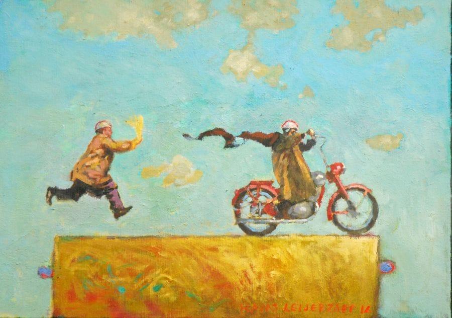 Kunst: De benodigde papieren van kunstenaar Hans Leijerzapf
