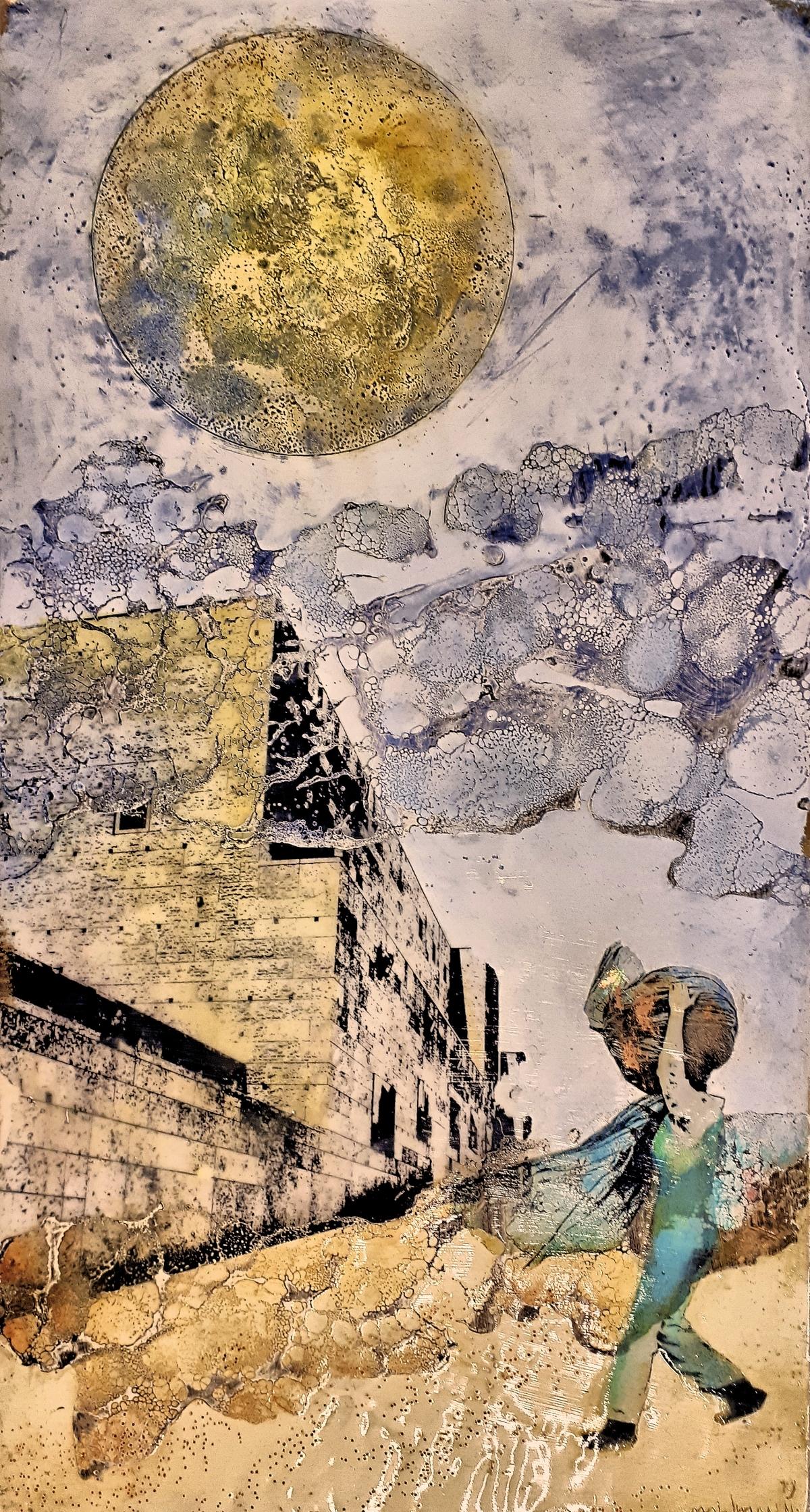 Kunst: De draagster van kunstenaar Trijnie Mohlmann