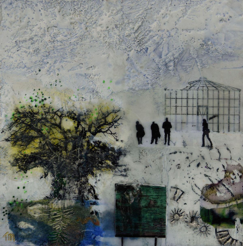 Kunst: De eik I van kunstenaar Trijnie Mohlmann