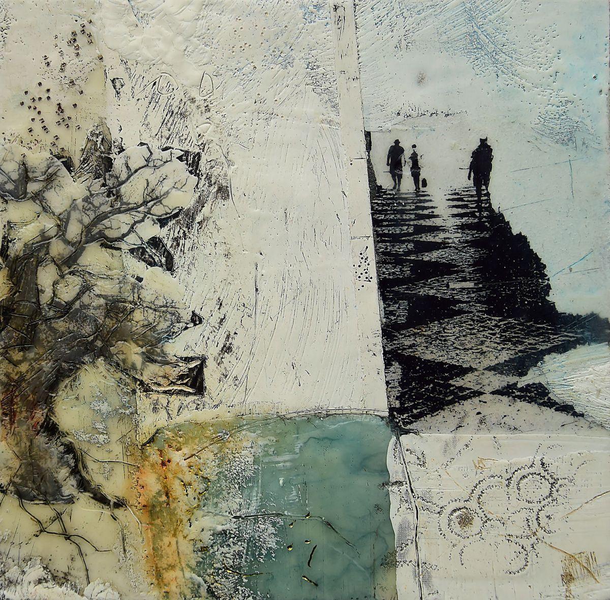 Kunst: De Eik II van kunstenaar Trijnie Mohlmann