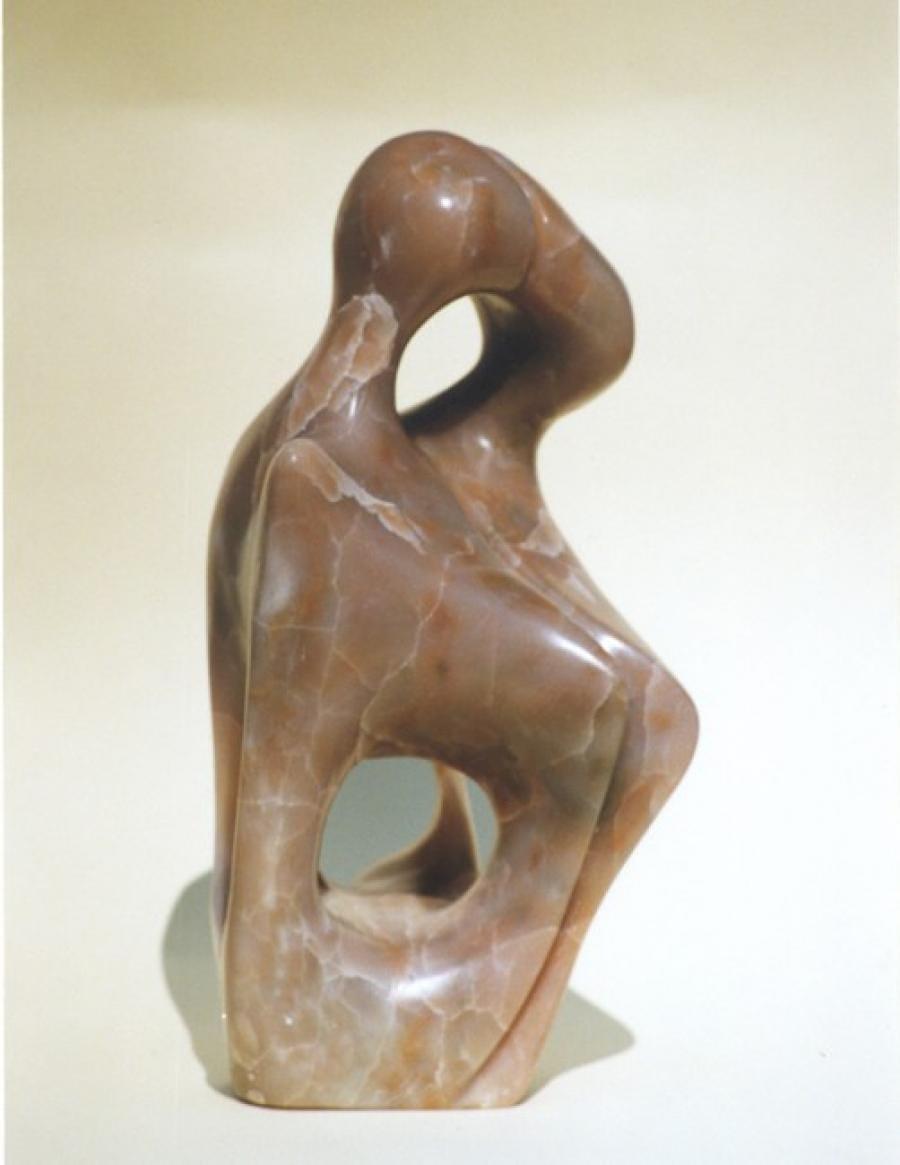 Kunst: De kus van kunstenaar Els Grootaers