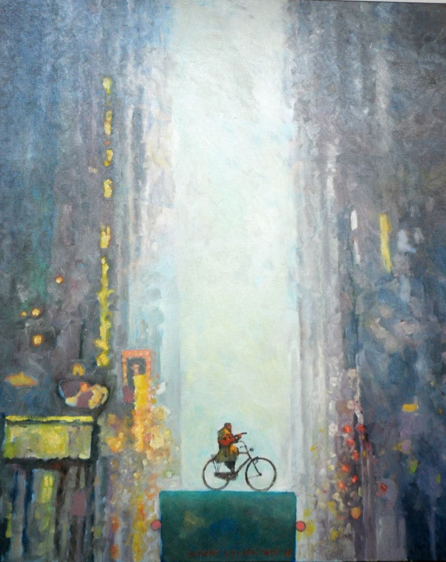 Kunst: De nieuwe wereld van kunstenaar Hans Leijerzapf