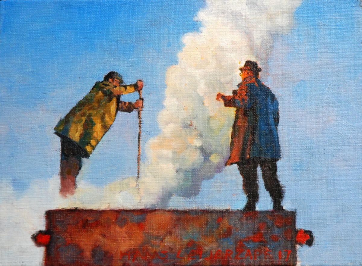 Kunst: De ondervonden gevolgen van kunstenaar Hans Leijerzapf