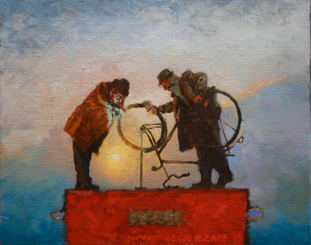 Kunst: De ontbrekende tijd van kunstenaar Hans Leijerzapf