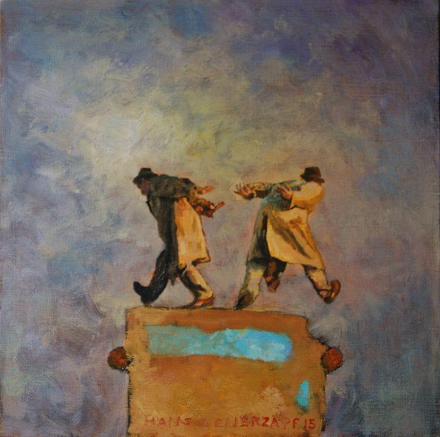 Kunst: De onzichtbare vracht van kunstenaar Hans Leijerzapf