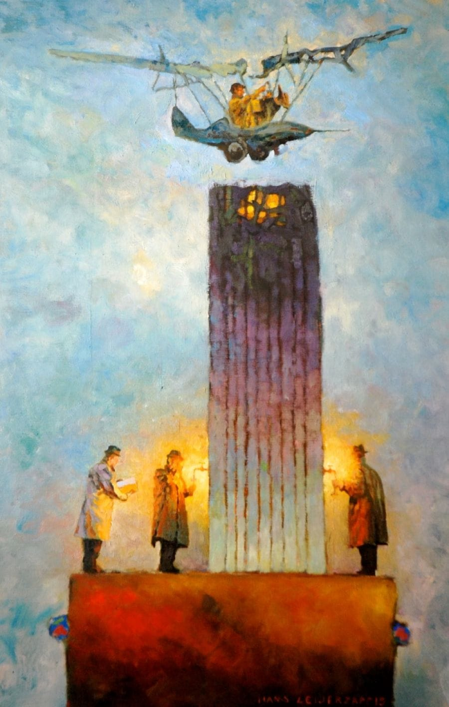 Kunst: de precisielanding van kunstenaar Hans Leijerzapf