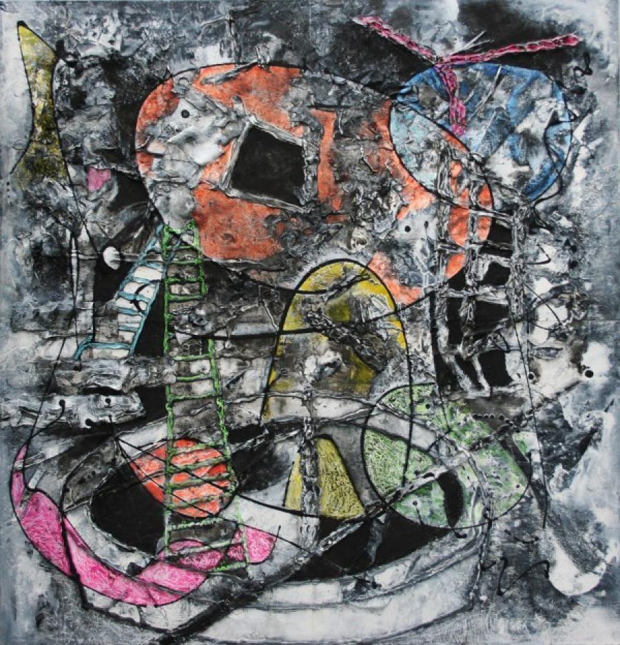 Kunst: De put en de slinger van kunstenaar Frans Muhren