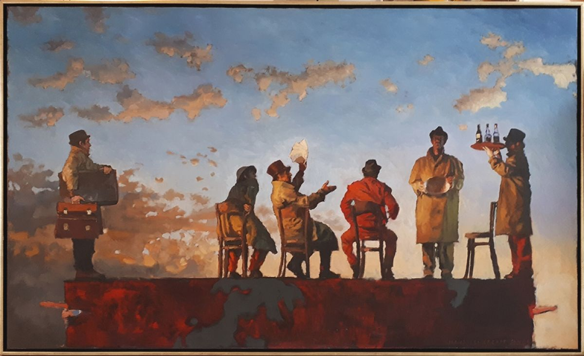 Kunst: De schijnbare tegenstelling van kunstenaar Hans Leijerzapf