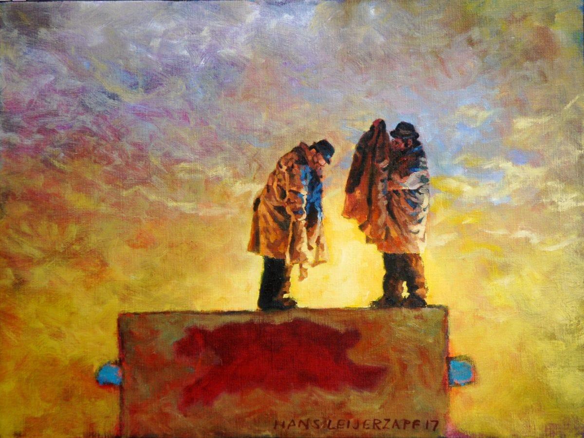 Kunst: De vermiste sleutel van kunstenaar Hans Leijerzapf