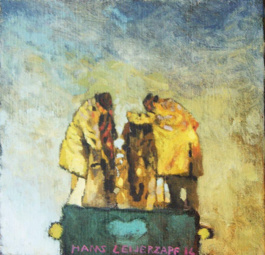 Kunst: De zakkenrollers van kunstenaar Hans Leijerzapf