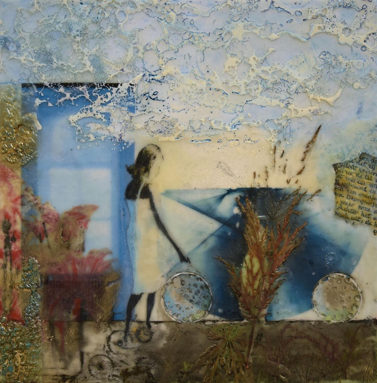 Kunst: De zomerjurk van kunstenaar Trijnie Mohlmann