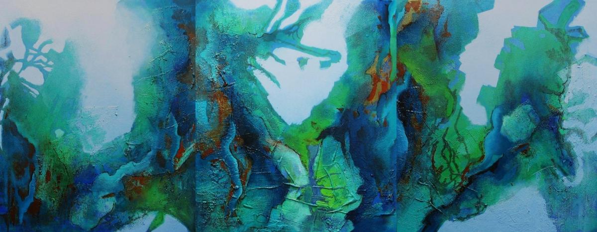 Kunst: Deep! van kunstenaar Marly Freij(vergezichten)