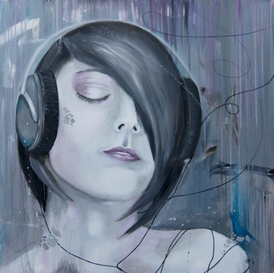 Kunst: Delight van kunstenaar Tamara Sille