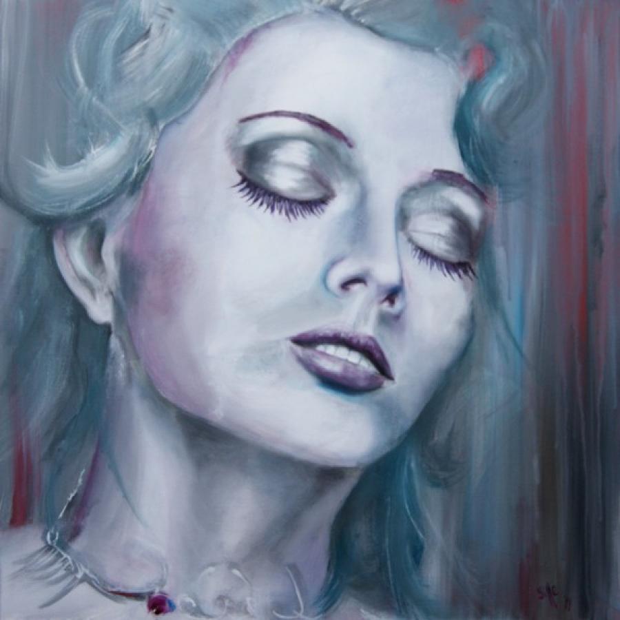 Kunst: Delight III van kunstenaar Tamara Sille