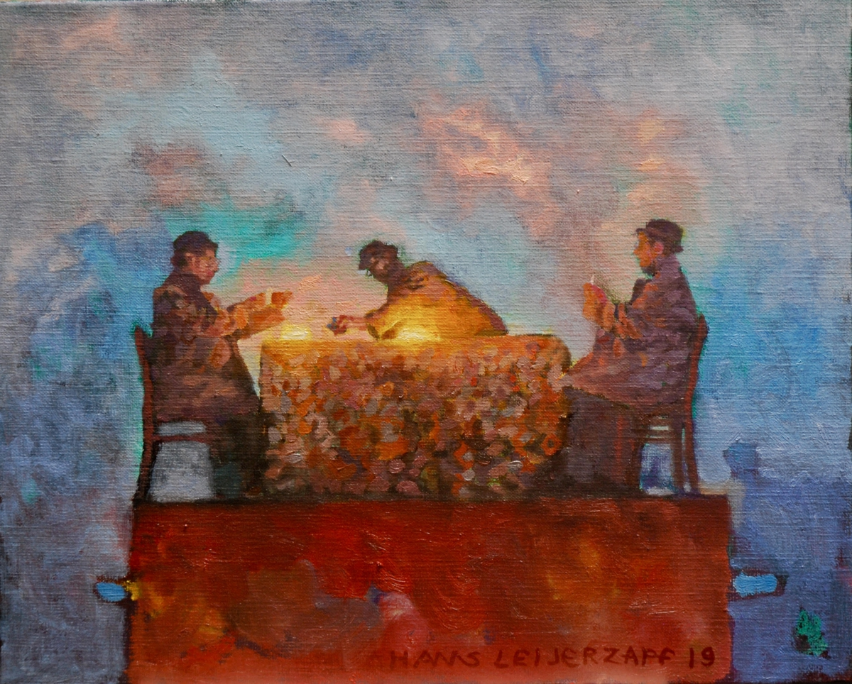 Kunst: Denkbare mogelijkheden van kunstenaar Hans Leijerzapf