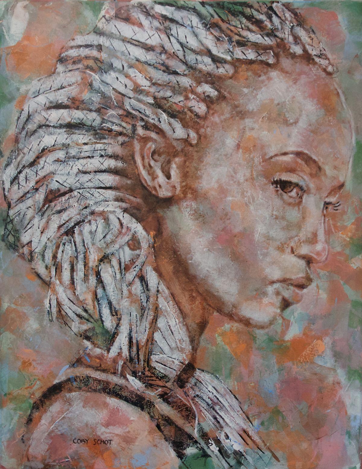 Kunst: 'Desert Flower' van kunstenaar Coby Schot