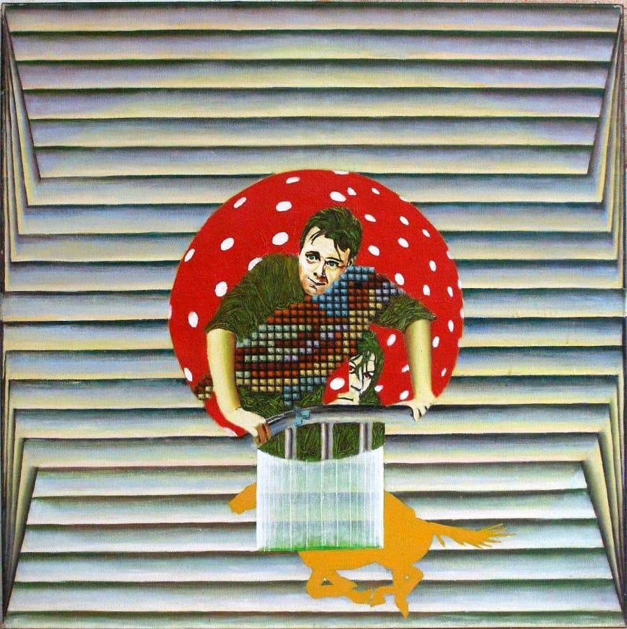 Kunst: dirkbogaardeals van kunstenaar Leo Wijnhoven
