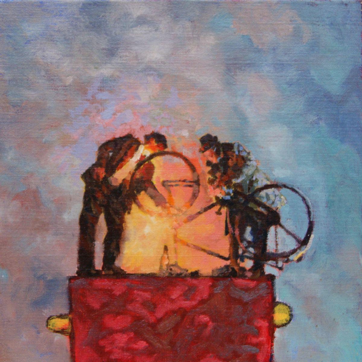 Kunst: Dit biedt soelaas van kunstenaar Hans Leijerzapf