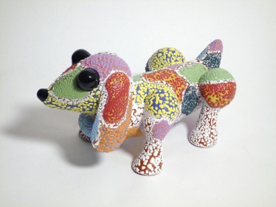 Kunst: Dog van kunstenaar Margarita van der Velden