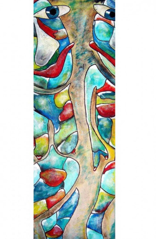 Kunst: Double Artica van kunstenaar Carla Broeckx