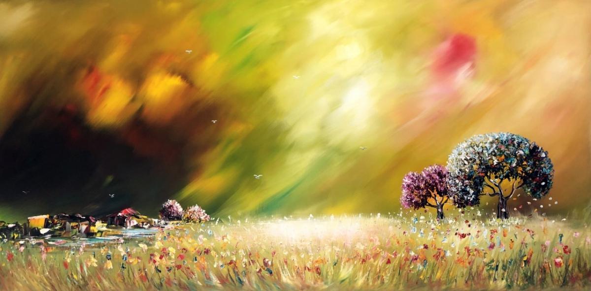 Kunst: Dream Nature-2 van kunstenaar Gena n Gena