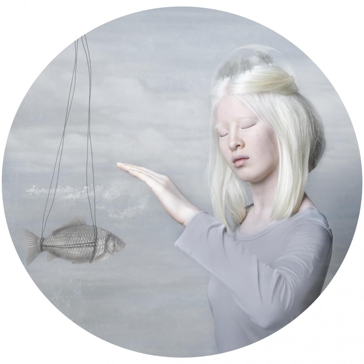 Kunst: Dream on 1 van kunstenaar Kaat Stieber