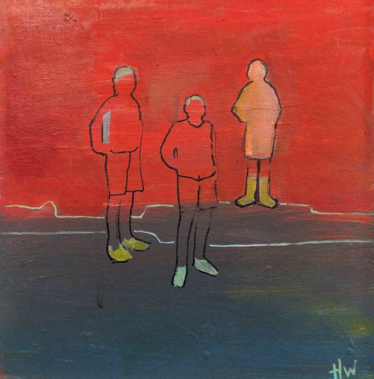 Kunst: vriendschap van kunstenaar Heleen Wilke