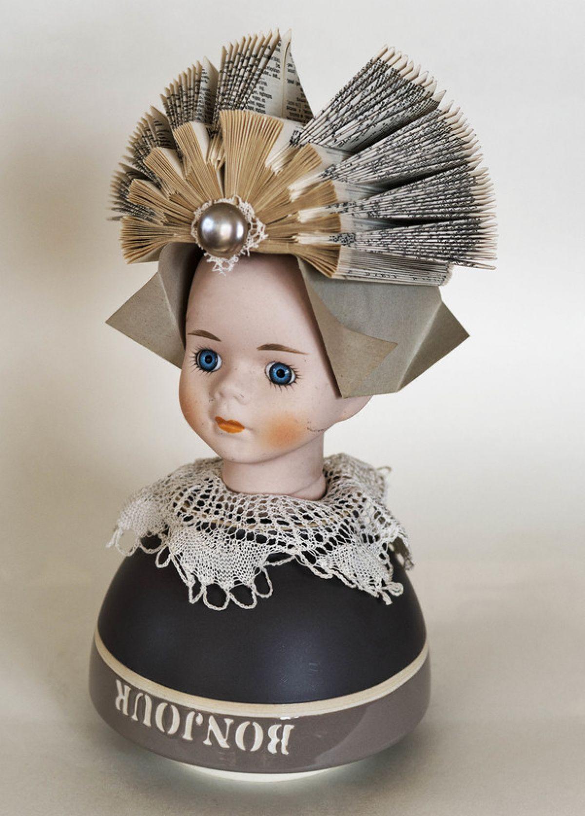 Kunst: Dutch girl bonjour van kunstenaar Frida Badoux