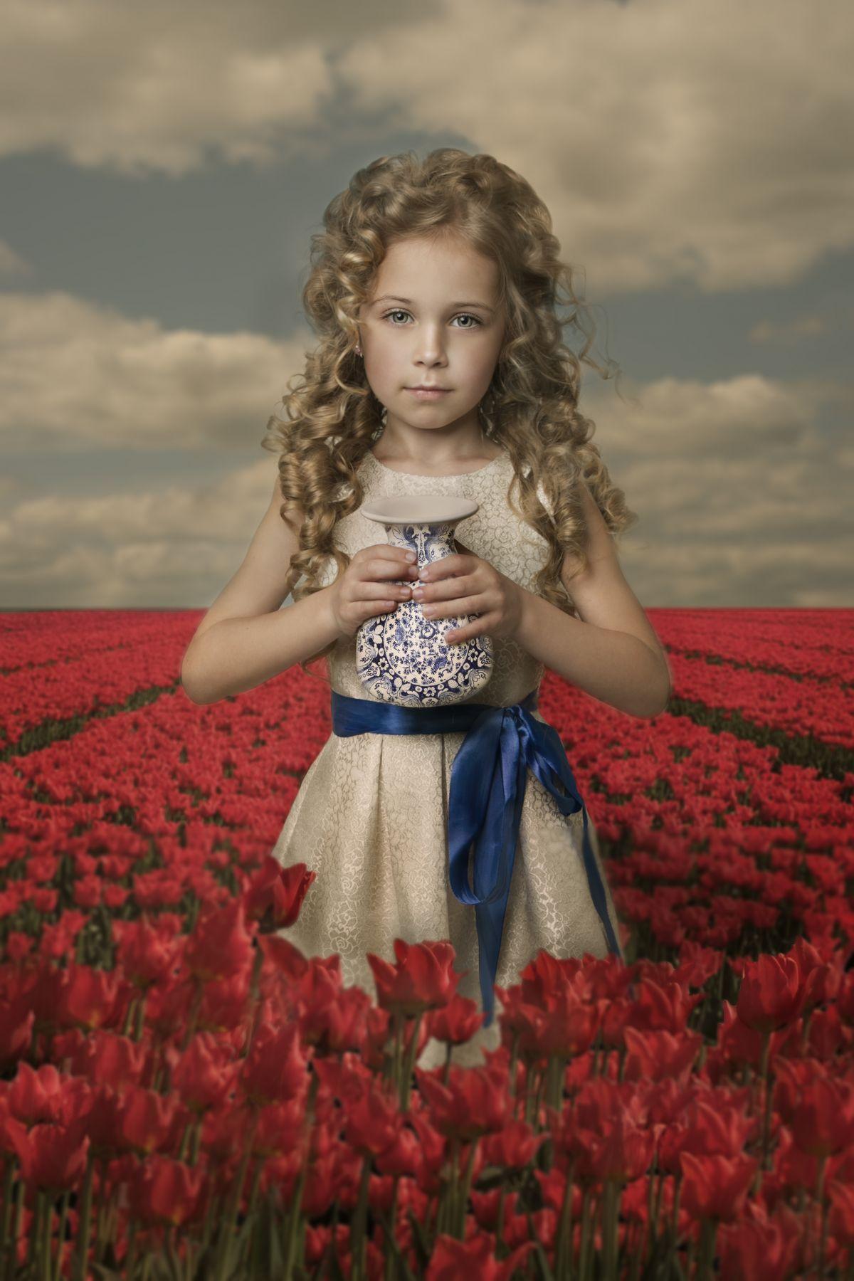 Kunst: Dutch Tulips van kunstenaar Kaat Stieber