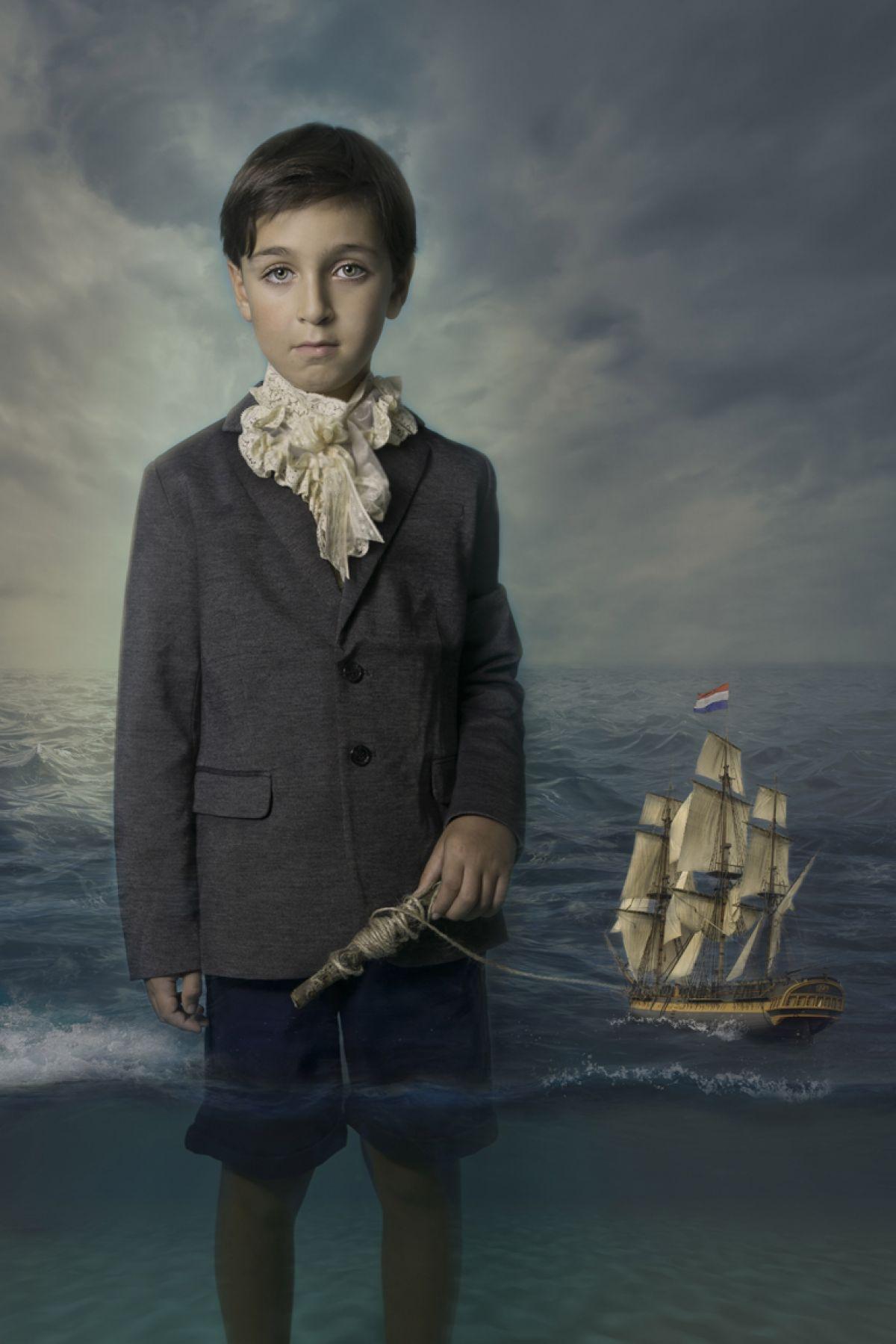 Kunst: Dutch Waters 1/2 van kunstenaar Kaat Stieber