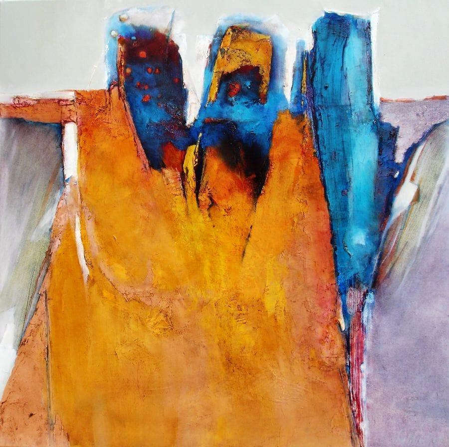 Kunst: e la nave va…homage aan Anouar Brahem van kunstenaar Sietse Goverts
