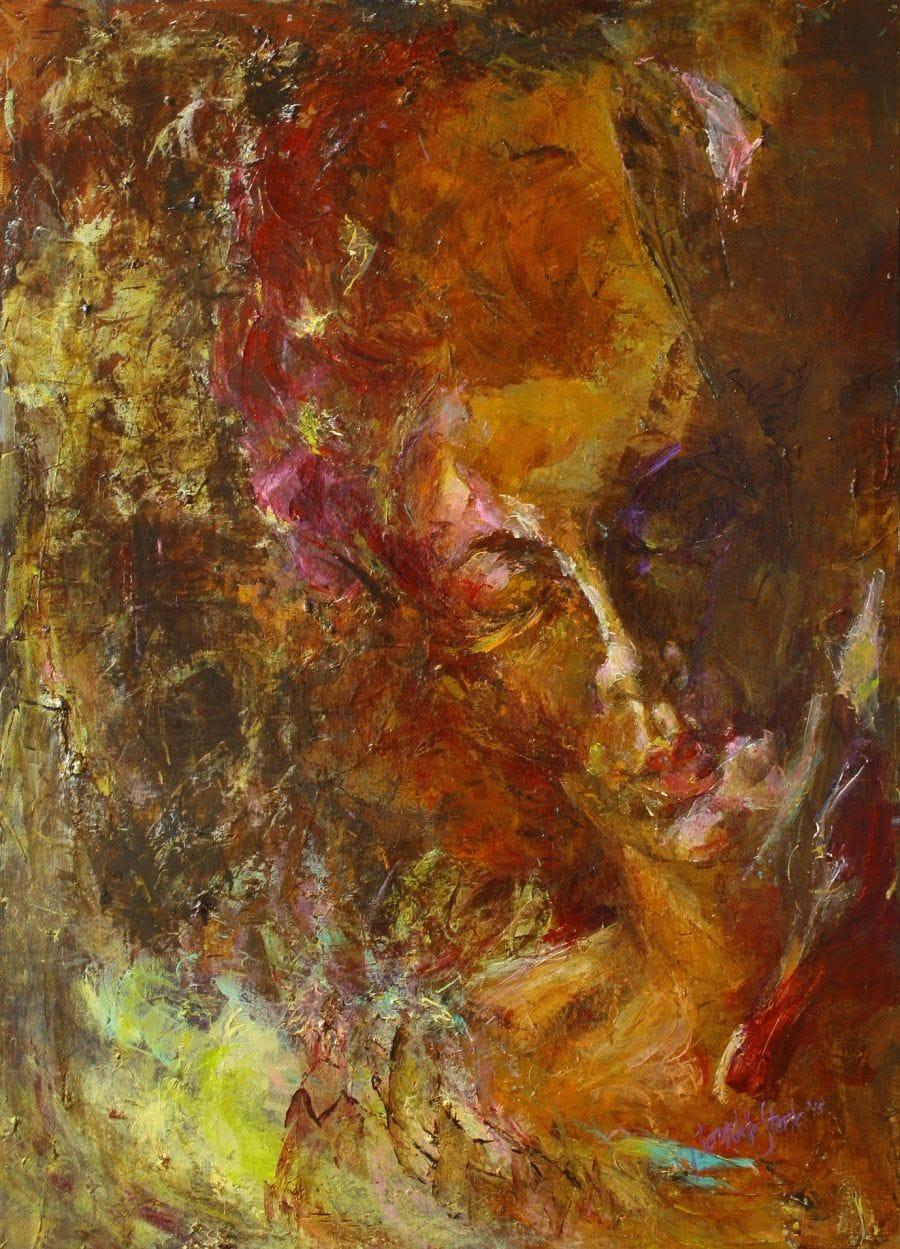 Kunst: Eccentric 2 van kunstenaar Bernadette Sterk