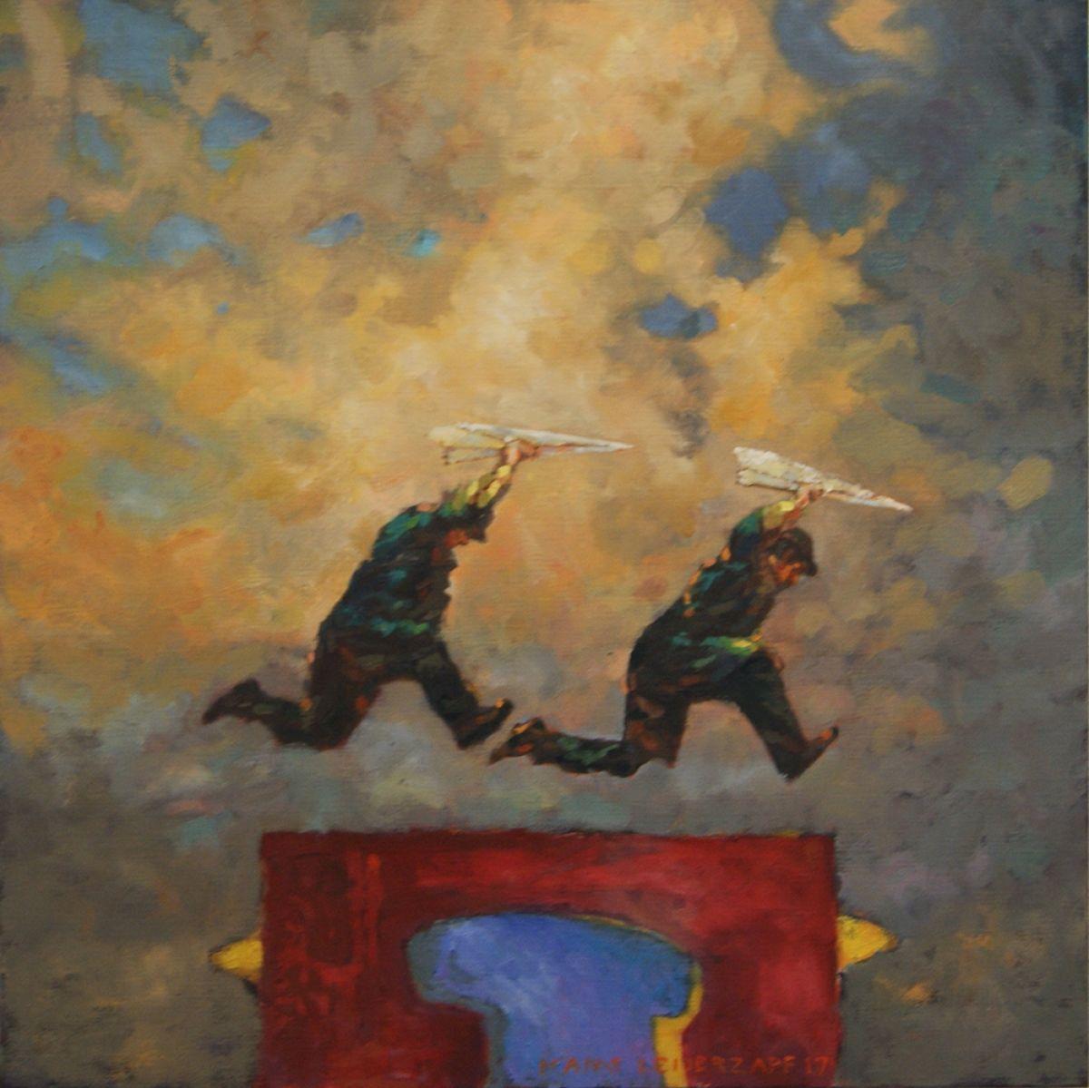 Kunst: één keer in de zoveel tijd van kunstenaar Hans Leijerzapf