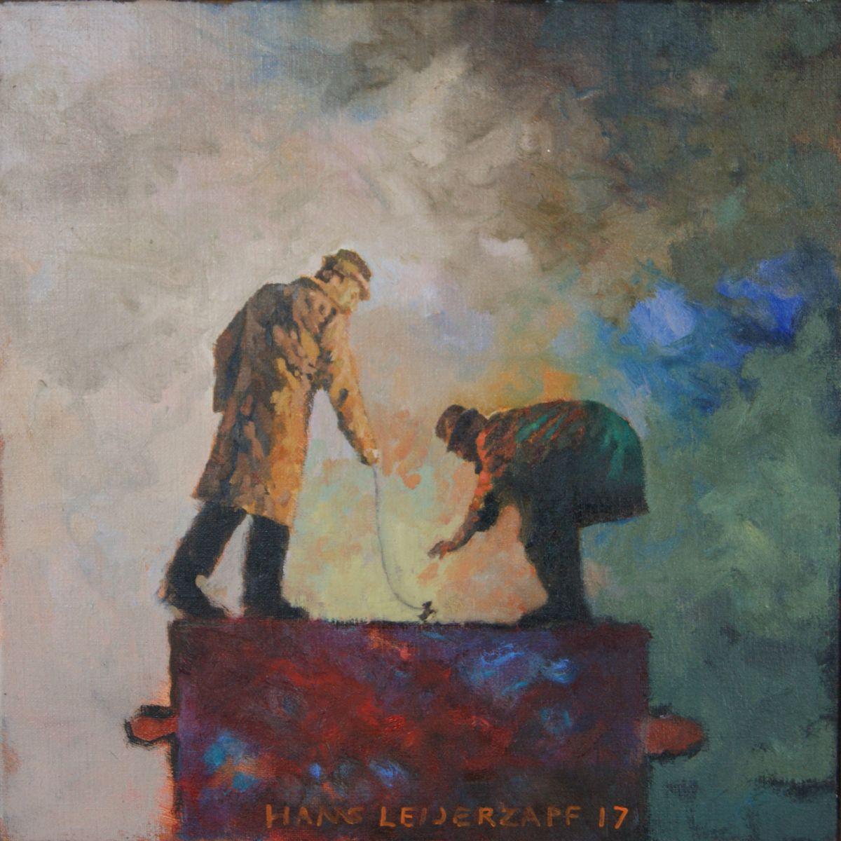 Kunst: Een Klein Huisdier van kunstenaar Hans Leijerzapf