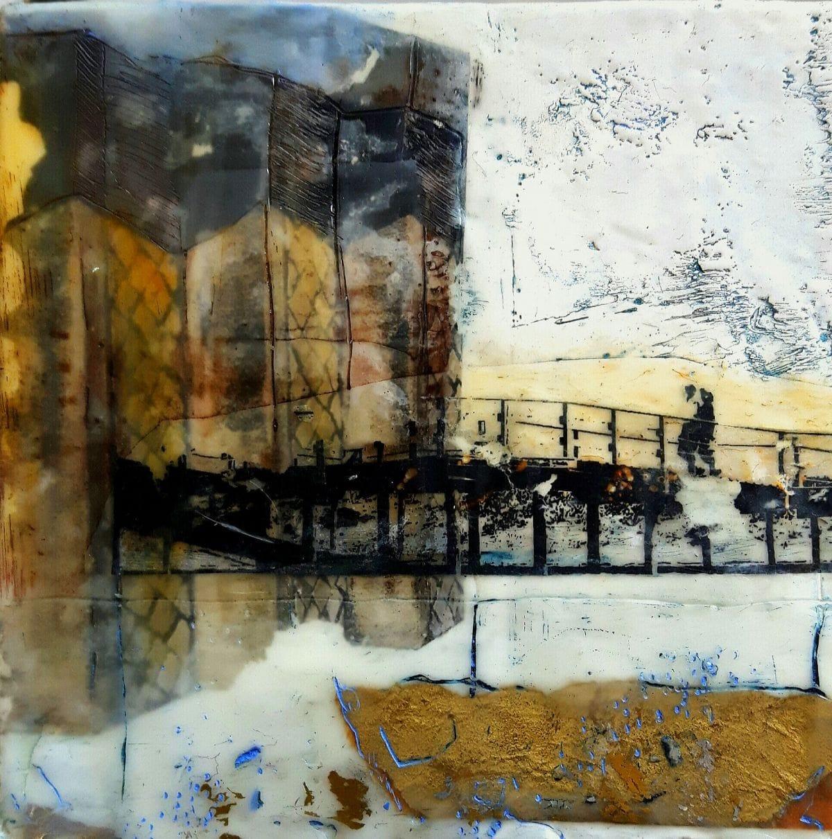 Kunst: een reisverhaal 1 van kunstenaar Trijnie Mohlmann