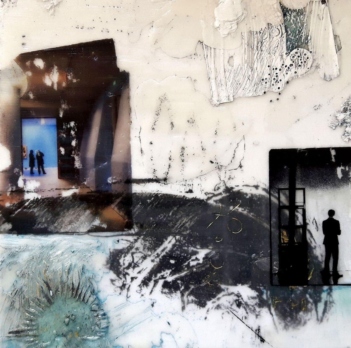 Kunst: Een reisverhaal 2 van kunstenaar Trijnie Mohlmann