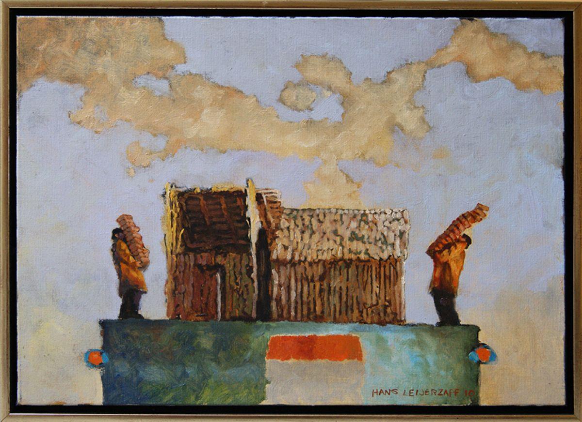 Kunst: een verkeerde beweging van kunstenaar Hans Leijerzapf