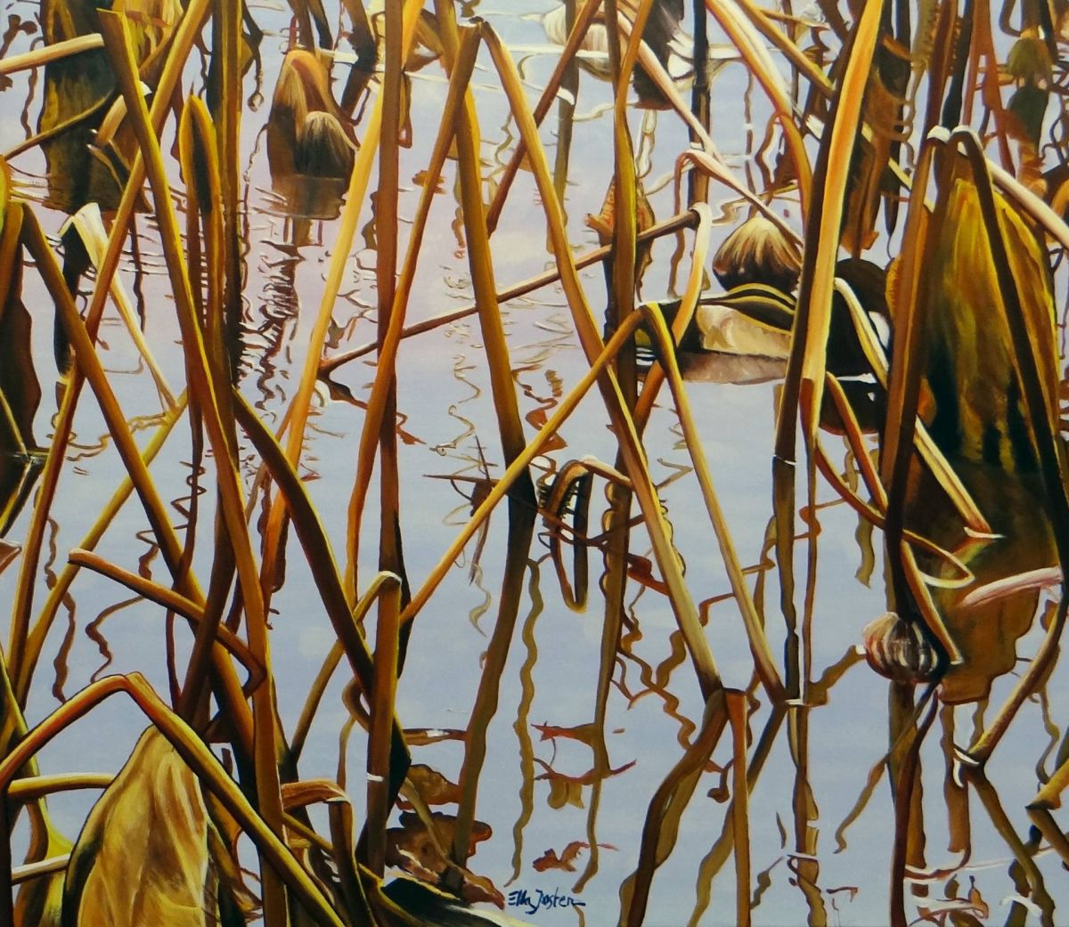 Kunst: Endless Three van kunstenaar Ella Joosten