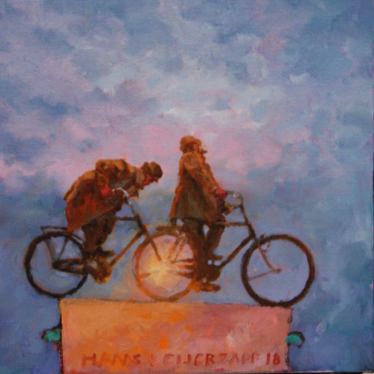 Kunst: Ergens naartoe van kunstenaar Hans Leijerzapf
