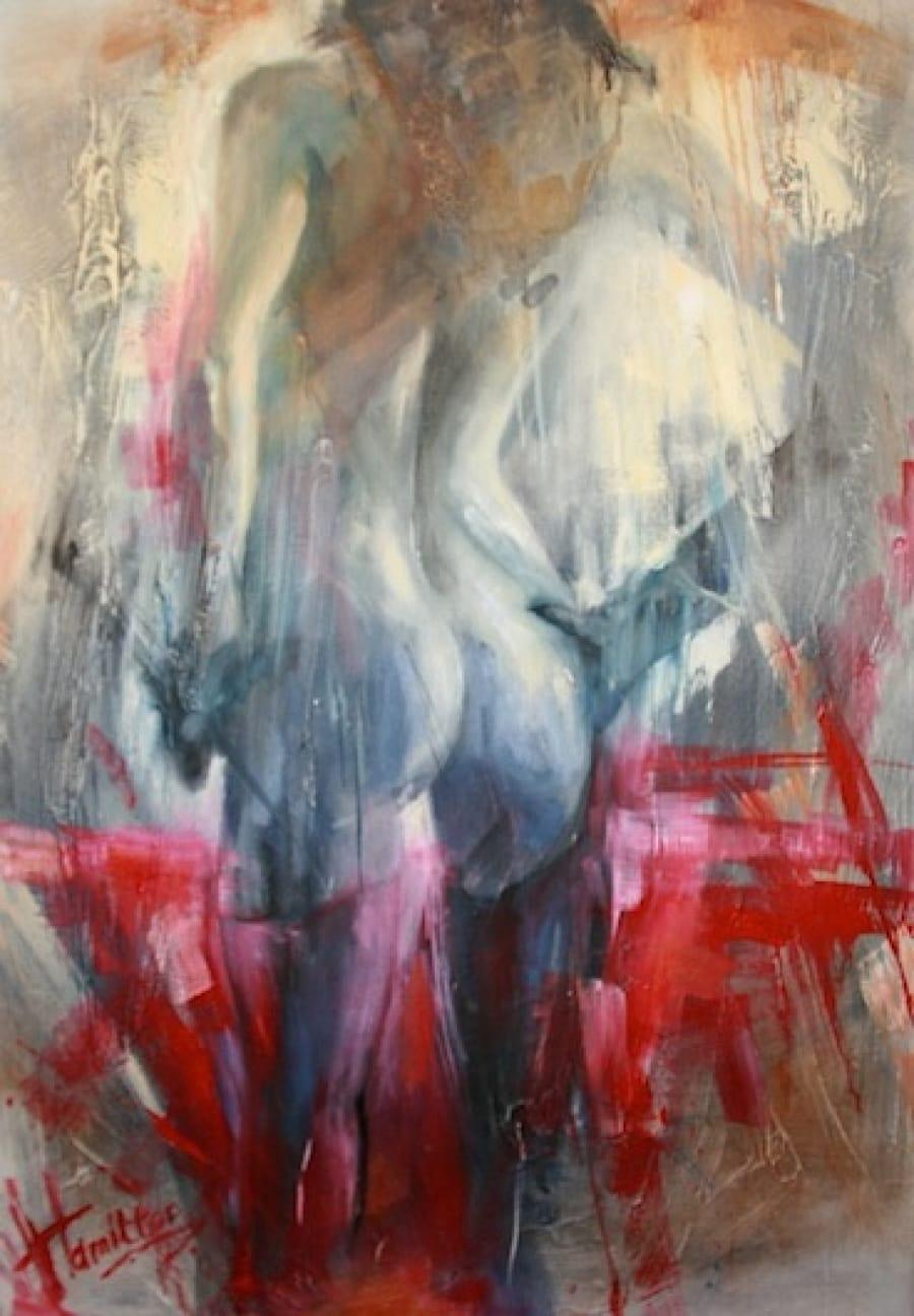 Kunst: Erotica 2 van kunstenaar Evelyn Hamilton
