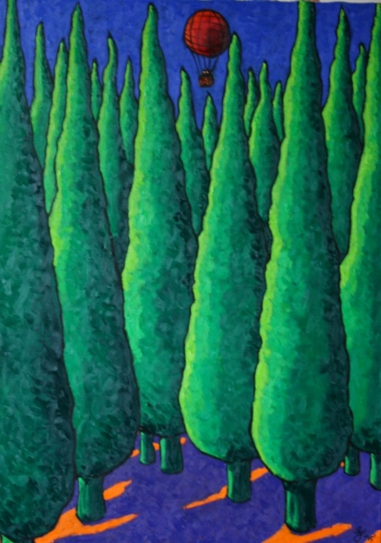 Kunst: Escape van kunstenaar Jacques Tange