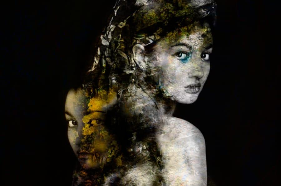 Kunst: Everyone carries their own burden van kunstenaar Johnny&Kyrah de Wit