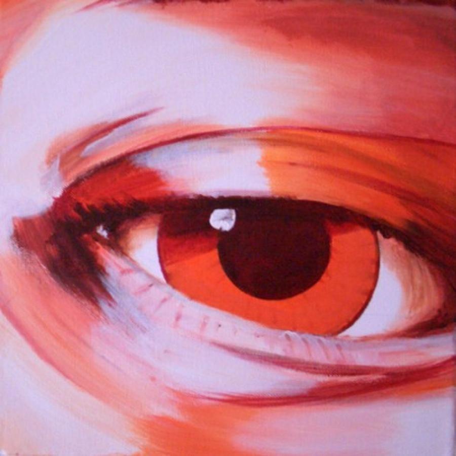 Kunst: Eye one van kunstenaar Tamara Sille