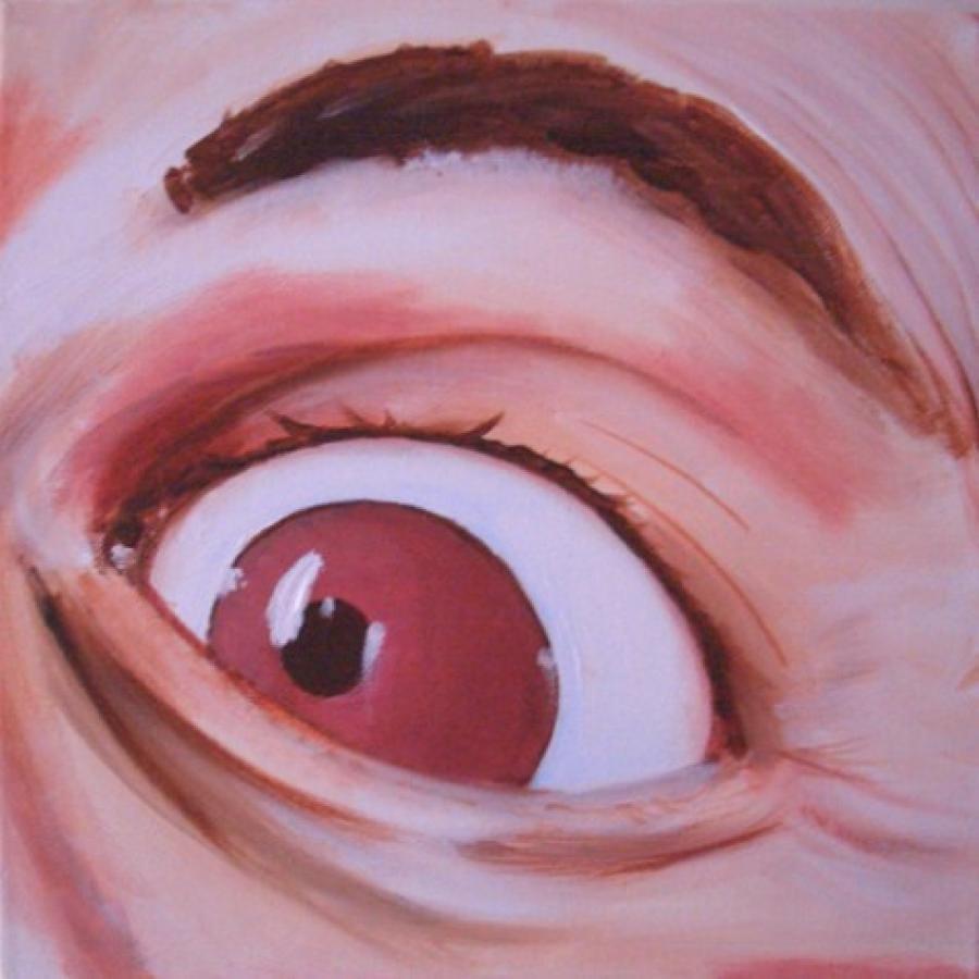 Kunst: Eye two van kunstenaar Tamara Sille