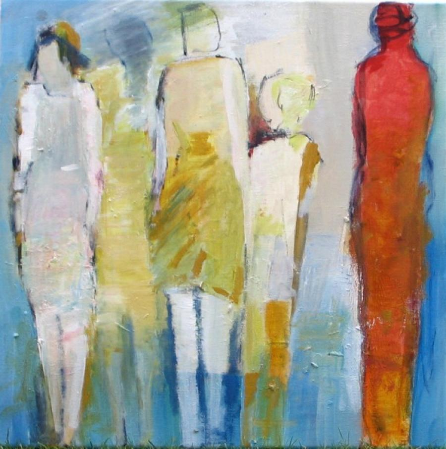 Kunst: Familie van kunstenaar Heleen Wilke