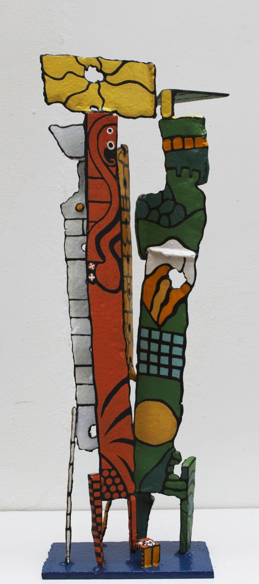 Kunst: Family Piece van kunstenaar Frans Muhren