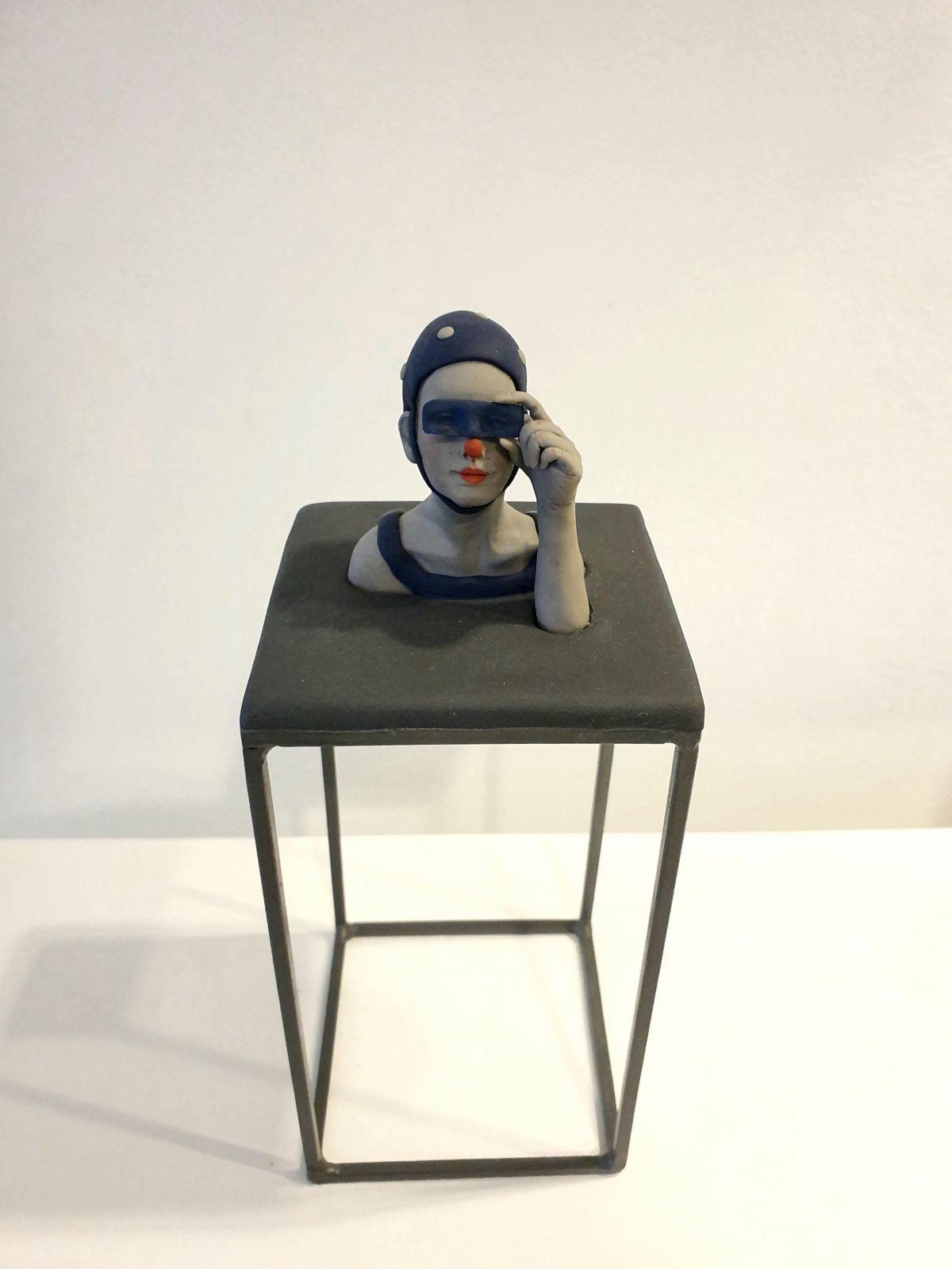 Kunst: feeling blue van kunstenaar Saskia Hoeboer
