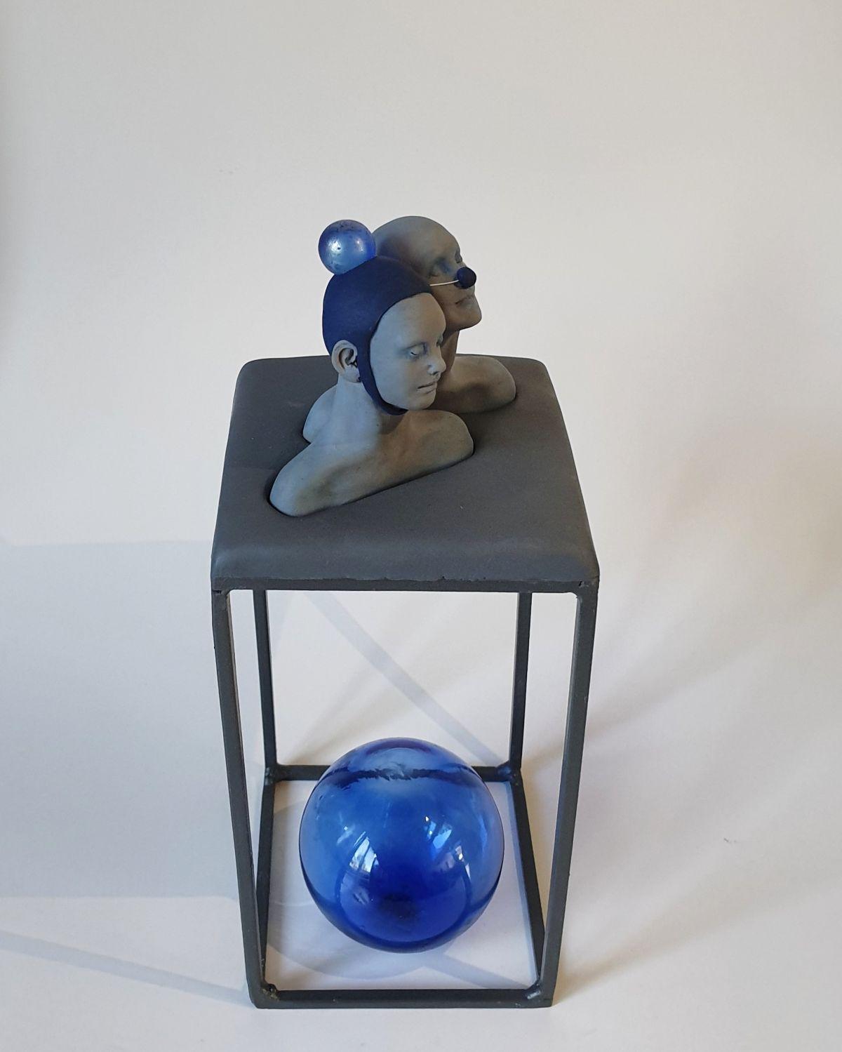 Kunst: feeling (Delfts) bleu van kunstenaar Saskia Hoeboer