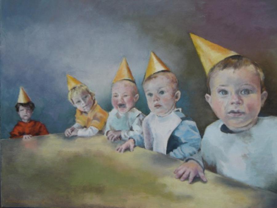 Kunst: Feestje van kunstenaar Miranda Karskens