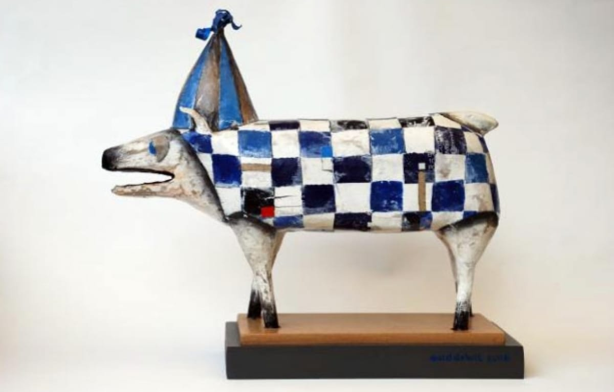 Kunst: Feestvarken van kunstenaar Aad de Wit
